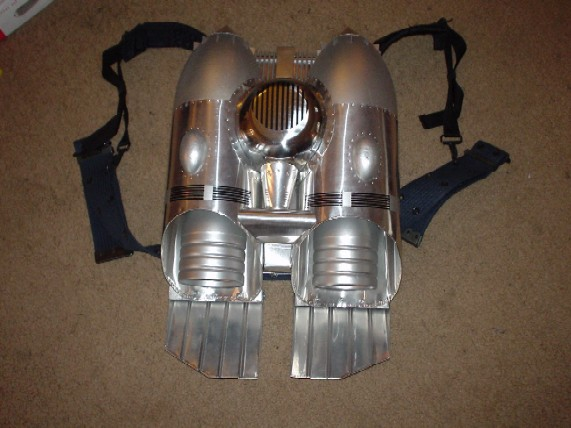 Rocketeer Jetpack Construction Details